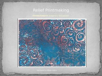 Relief Printmaking Powerpoint