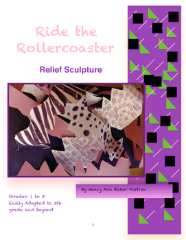 Relief Sculpture - Visual Art Lessons 1st - 4th Grade