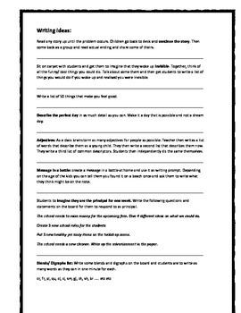 Relief/ Substitute teacher ideas