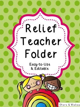 Relief Teacher Folder