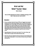 Relief Teacher Ideas!