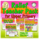 Relief Teacher Resource Bundle