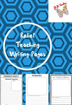 Relief/casual/substitute writing pages