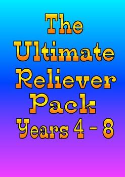 Substitute Teacher / Reliever Pack