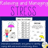 Relieving and Managing Stress Counseling Games and Activities