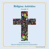 Religion Activities-Grade 2