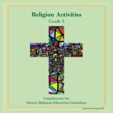 Religion Activities-Grade 3