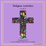 Religion Activities-Grade 5