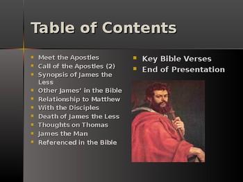 Religion - Apostles of Jesus - James the Less