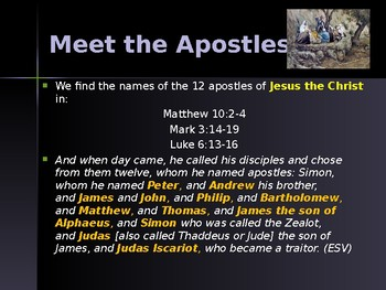 Religion - Apostles of Jesus - Paul