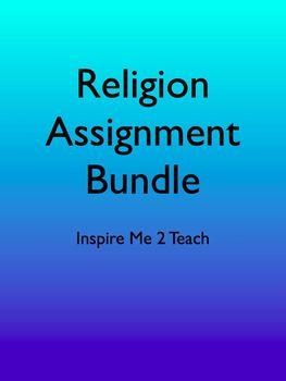 Religion Assignment Bundle