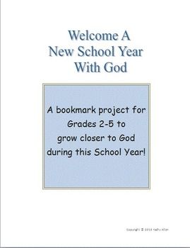 """Back To School"" with God"