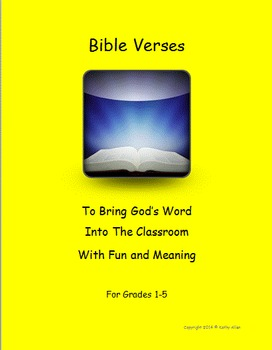 10 Bible Scripture/Verses for Children