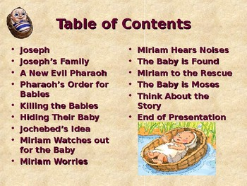 Religion - Children's Bible Stories - A Princess Finds a Baby
