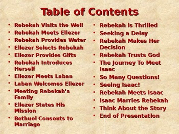 Religion - Children's Bible Stories - Abraham, Part 11 - Rebekah Trusts the Lord