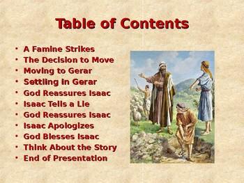 Religion - Children's Bible Stories - Abraham, Part 12 - Isaac Tells a Big Lie