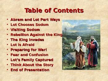 Religion - Children's Bible Stories - Abraham: Part 3 - Lot's Family Captured!