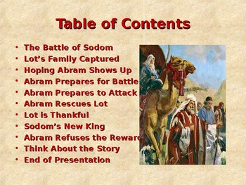 Religion - Children's Bible Stories - Abraham, Part 4 ...