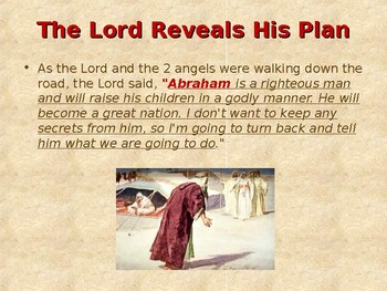 Religion - Children's Bible Stories - Abraham: Part 7 - Abraham Prays for Mercy
