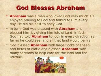 Religion - Children's Bible Stories - Abraham, Part 8 - The Promised Child