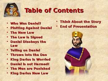 Religion - Children's Bible Stories - Daniel in the Lions Den