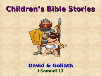 Religion - Children's Bible Stories - David & Goliath