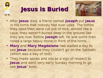 Religion - Children's Bible Stories - Easter, Part 5 - Jesus Is Alive!