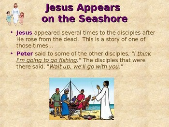 Religion - Children's Bible Stories - Easter, Part 6 - Jesus Loves You!