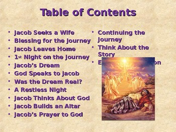 Religion - Children's Bible Stories - Jacob, Part 4 - The Ladder to Heaven