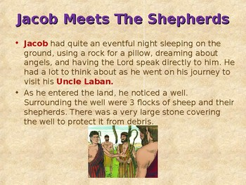 Religion - Children's Bible Stories - Jacob, Part 5 - Jacob is Tricked