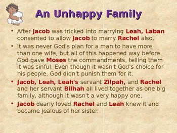 Religion - Children's Bible Stories - Jacob, Part 6 - The Baby Competition
