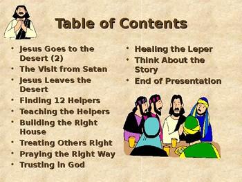 Religion - Children's Bible Stories - Jesus Chooses His Helpers