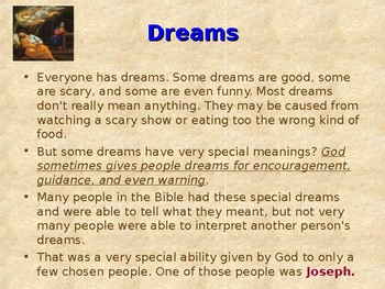 Religion - Children's Bible Stories - Joseph, Part 3 - Dreams From Prison