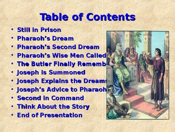 Religion - Children's Bible Stories - Joseph, Part 4 - From Prison to the Palace