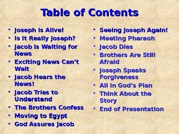 Religion - Children's Bible Stories - Joseph, Part 8 - Moving to Egypt