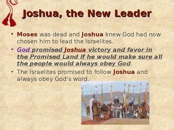 Religion - Children's Bible Stories - Joshua Takes Charge