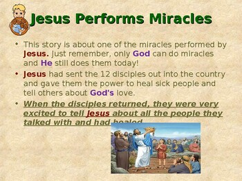Religion - Children's Bible Stories - Miracles of Jesus - Feeding the 5,000