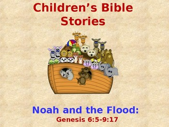 Religion - Children's Bible Stories - Noah and the Flood