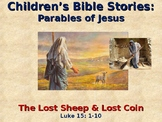Religion - Children's Bible Stories - Parables of Jesus - The Lost Sheep & Coin