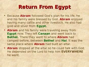Religion - Children's Bible Stories - Abraham, Part 2 - Lot Chooses His Land