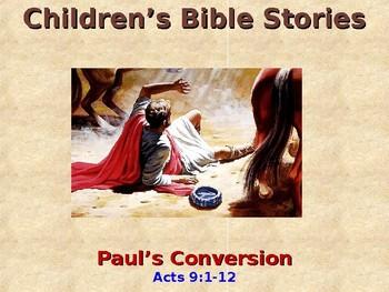 Religion - Children's Bible Stories - Paul's Conversion