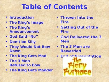 Religion – Children's Bible Stories – The Fiery Furnace