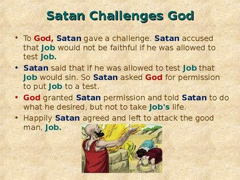 Religion - Children's Bible Stories - The Story of Job