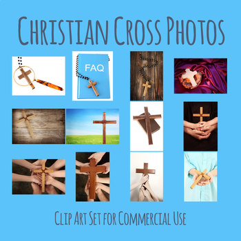 Religion / Christian Theme Photos Clip Art Set for Commercial Use