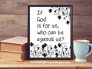 Religious Poster, Christian Classroom Poster