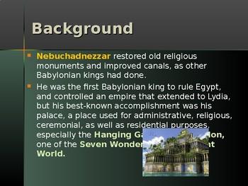 Religion – Enemies of God in the Old Testament - Nebuchadnezzar II