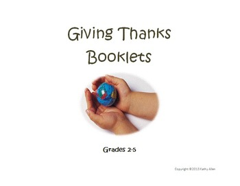 "A ""Giving Thanks"" Booklet For All Seasons"