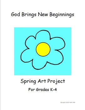 "A ""Spring Art Project"" for New Beginnings"