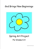 """A """"Spring Art Project"""" for New Beginnings"""