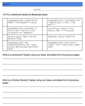 Religion Grade 4 Workbook